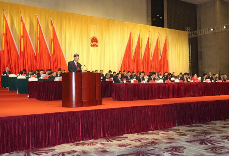 区二届人民代表大会第三次会议审议通过门洪训检察长所作的检察工作报告