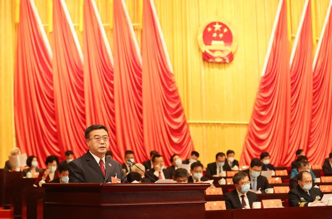 青岛市人民检察院检察长李建新在青岛市第十六届人民代表大会第五次会议上作工作报告